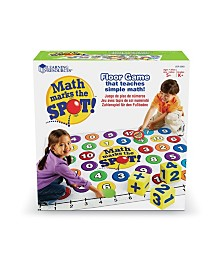 Learning Resources Math Marks The Spot Floor Game