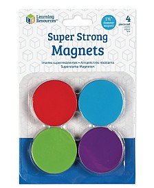 Learning Resources Super Strong Magnets 4 Pieces