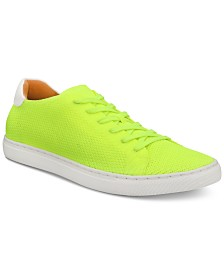 Bar III Men's Donnie Knit Lace-Up Sneakers, Created for Macy's