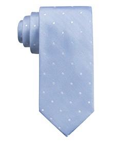 Men's  Burgos Dot Slim Silk Tie, Created for Macy's