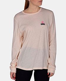 Hurley Juniors' Cotton Diamond Blossom T-Shirt