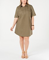 Casual Plus Size Dresses - Macy\'s