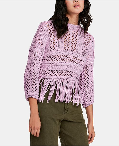 Free People Higher Love Pullover