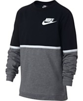 11897e2e Nike Big Boys Sportswear Advance 15 Crewneck T-Shirt