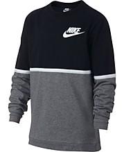 b612220d3 Nike Big Boys Sportswear Advance 15 Crewneck T-Shirt