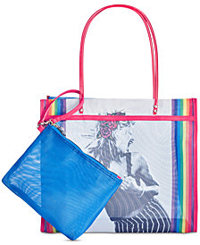 Betsey Johnson Mesh Is Fresh Tote