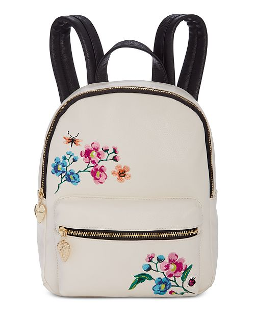 Betsey Johnson Embroidery Backpack  Betsey Johnson Embroidery Backpack ... 77195da89efca