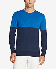 DKNY Men's Colorblocked Marled Sweater