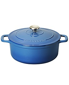 French Enameled Cast Iron 5.25 Qt. Round Dutch Oven