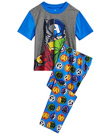 Marvel Little & Big Boys 2-Pc. Avengers Pajama Set