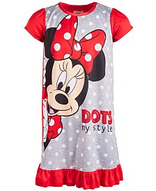 AME Little & Big Girls Minnie Mouse Nightgown
