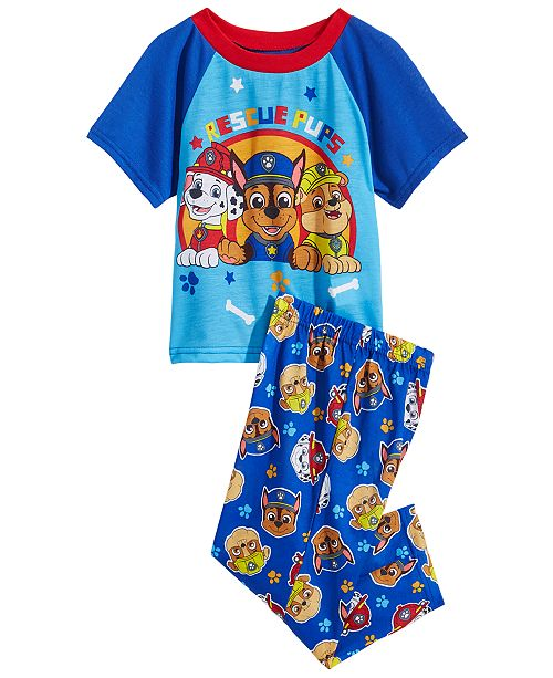 Product Details. Rescue pups brighten bedtime with this two-piece jersey PAW  Patrol pajama set ... ccb86043b