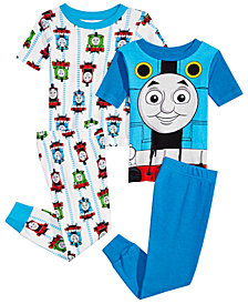 Thomas & Friends Toddler Boys 4-Pc. Thomas the Tank Engine Cotton Pajama Set