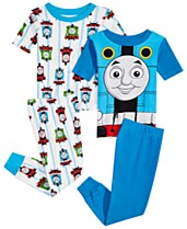568137d42c Thomas   Friends Toddler Boys 4-Pc. Thomas the Tank Engine Cotton Pajama Set
