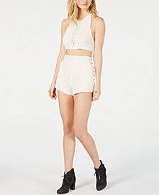 Free People Feelin Cheeky Tank & Short Set