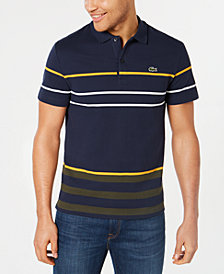 Lacoste Men's Stripe Polo, Created for Macy's