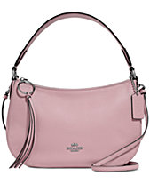 4dbf3f854dd COACH Sutton Crossbody in Polished Pebble Leather