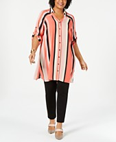12ba2aa0919 Plus Size Tunic Tops  Shop Plus Size Tunic Tops - Macy s