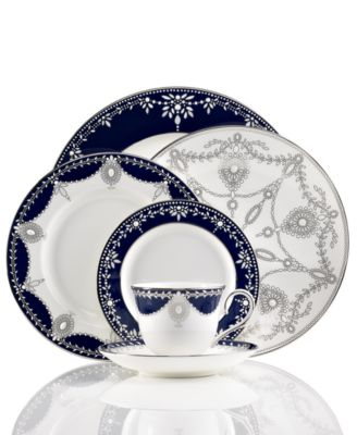 Empire Indigo Appetizer Plate