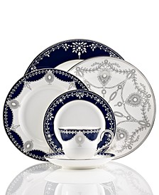 Dinnerware, Empire Indigo Collection