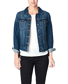 Nicole Miller New York Denim Jacket with Coolmax