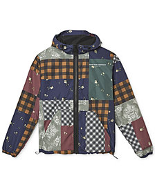 WeSC Men's Patchwork Windbreaker