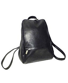 "Royce 10"" Tablet Backpack in Colombian Genuine Leather"
