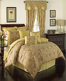 Waverly Swept Away 4 Piece King Comforter Set
