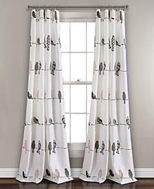 "Rowley Birds 52"" x 84"" Curtain Set"