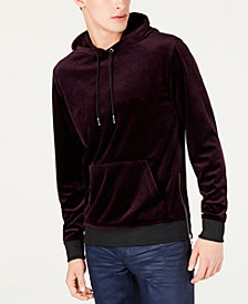 I.N.C. Men's Velour Hoodie, Created for Macy's