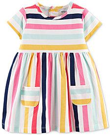 Carter's Baby Girls Striped Cotton Dress