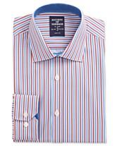 d13d3434b89c9 Society of Threads Men s Slim-Fit Performance Stretch Stripe Dress Shirt