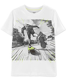 Carter's Little Boys Skateboard Graphic Cotton T-Shirt