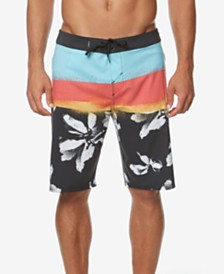 "O'Neill Men's Hyperfreak Colorblocked 20"" Board Short"