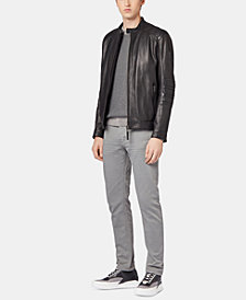 BOSS Men's Tapered Fit Jeans