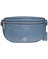 d6f94aae6703 COACH Fanny Pack in Pebble Leather