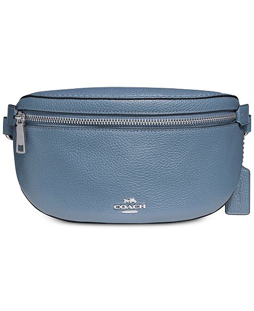 fa71c72e Fanny Pack in Pebble Leather