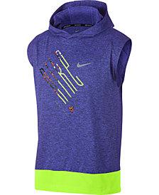 Nike Men's Element Sleeveless Running Hoodie