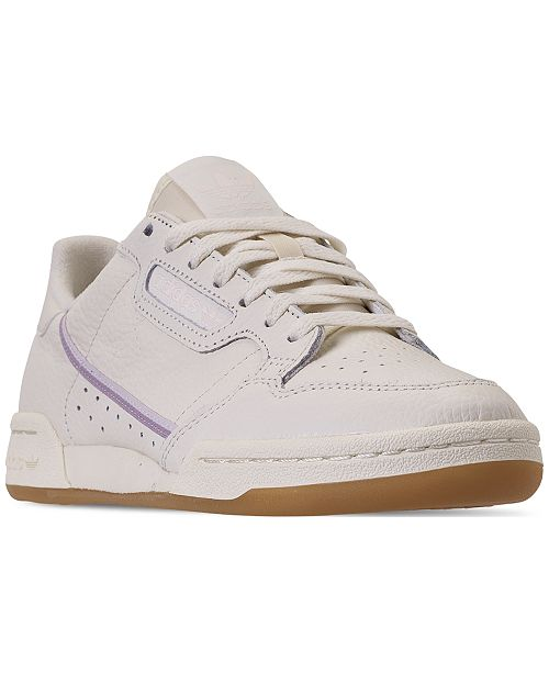 6aff2f331fb02 ... adidas Women s Originals Continental 80 Casual Sneakers from Finish ...