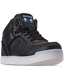 Skechers Little Boys' S Lights: Energy Lights Ultra Light-Up High-Top Casual Sneakers from Finish Line