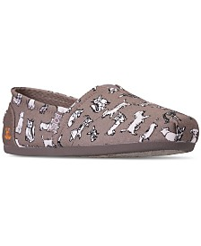 Skechers Women's Bobs Plush - Dream Doodle Bobs for Dogs and Cats Casual Slip-On Flats from Finish Line