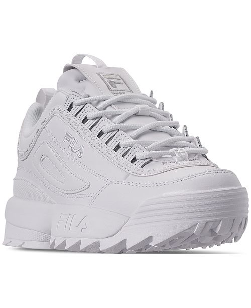 6b096a0b7cd3 ... Fila Women s Disruptor II Premium Repeat Casual Athletic Sneakers from  Finish ...
