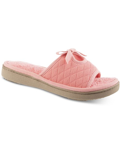 Isotoner Signature Isotoner Quilted Jersey Amelia Slide
