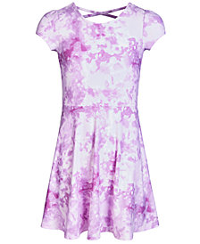 Epic Threads Super Soft Big Girls Tie-Dyed Fit & Flare Dress, Created for Macy's