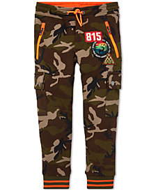 Polo Ralph Lauren Little Boys Camo Jogger Pants