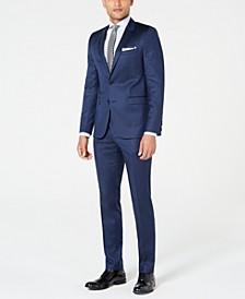 HUGO Men's Slim-Fit Stripe Suit Separates