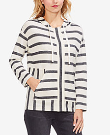 Vince Camuto Striped Hoodie