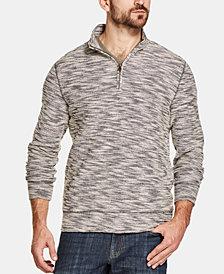 Weatherproof Men's Marled Quarter-Zip Sweater