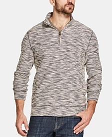 Weatherproof Vintage Men's Marled Quarter-Zip Sweater