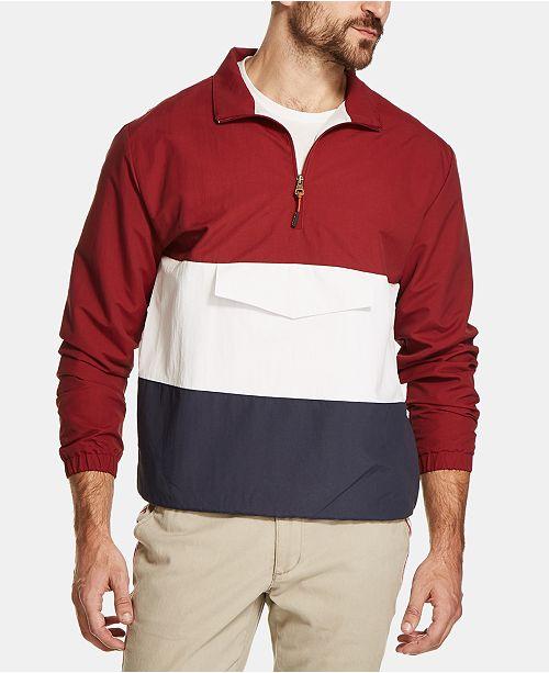 Weatherproof Vintage Men's Colorblocked Anorak Jacket
